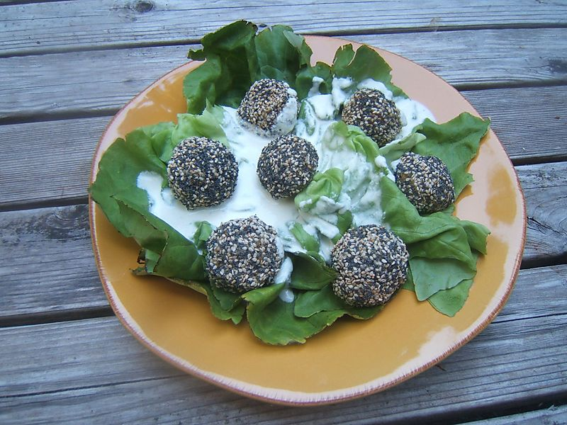 RAW Vegan Falafel Balls